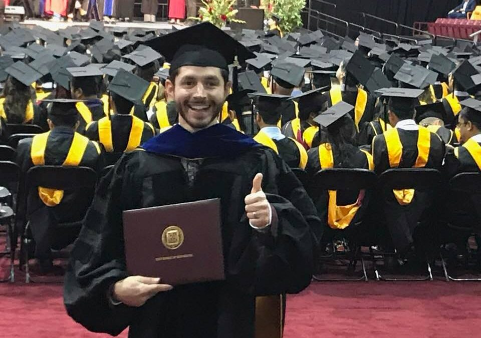 Alumnus Jasper Weinburd PhD